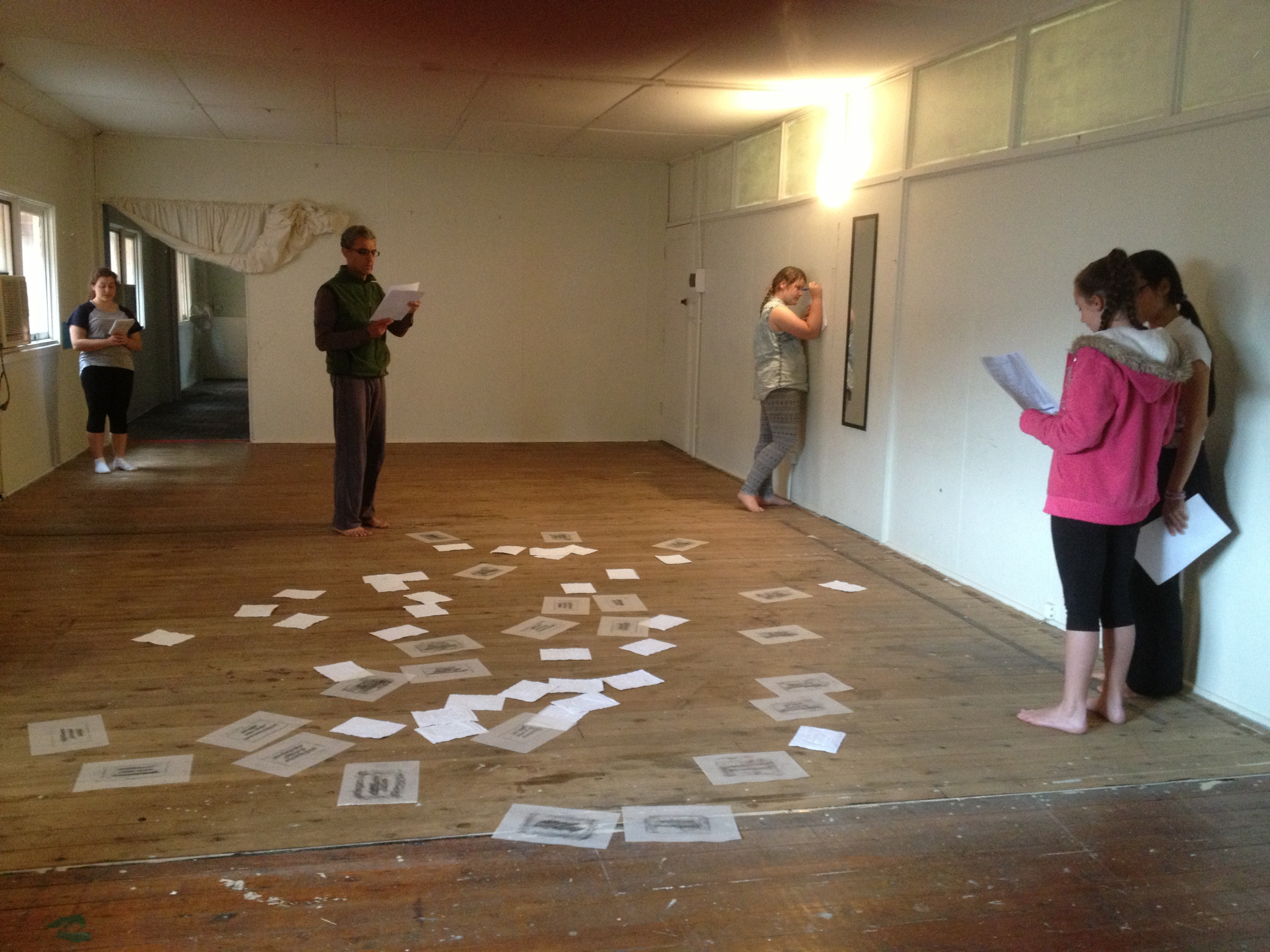 Voice and Movement workshops